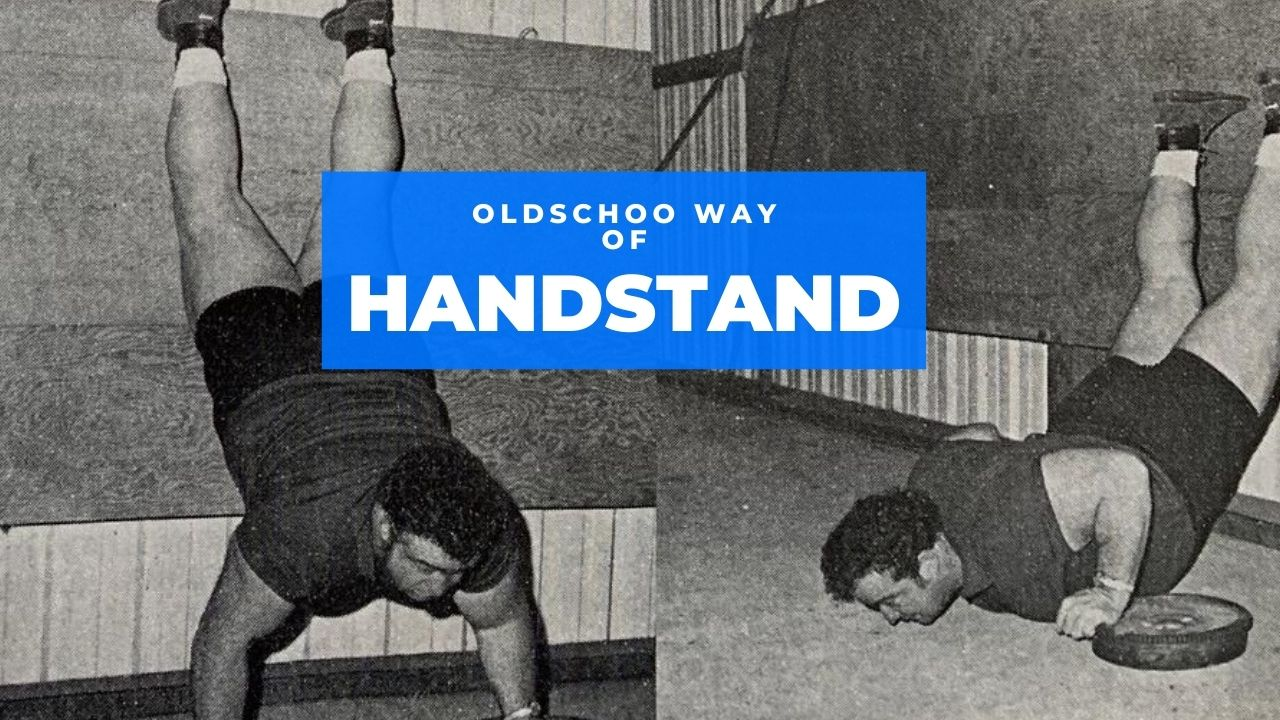 hand stand oldschool