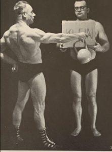 siegmund klein kettlebell workout oldtime