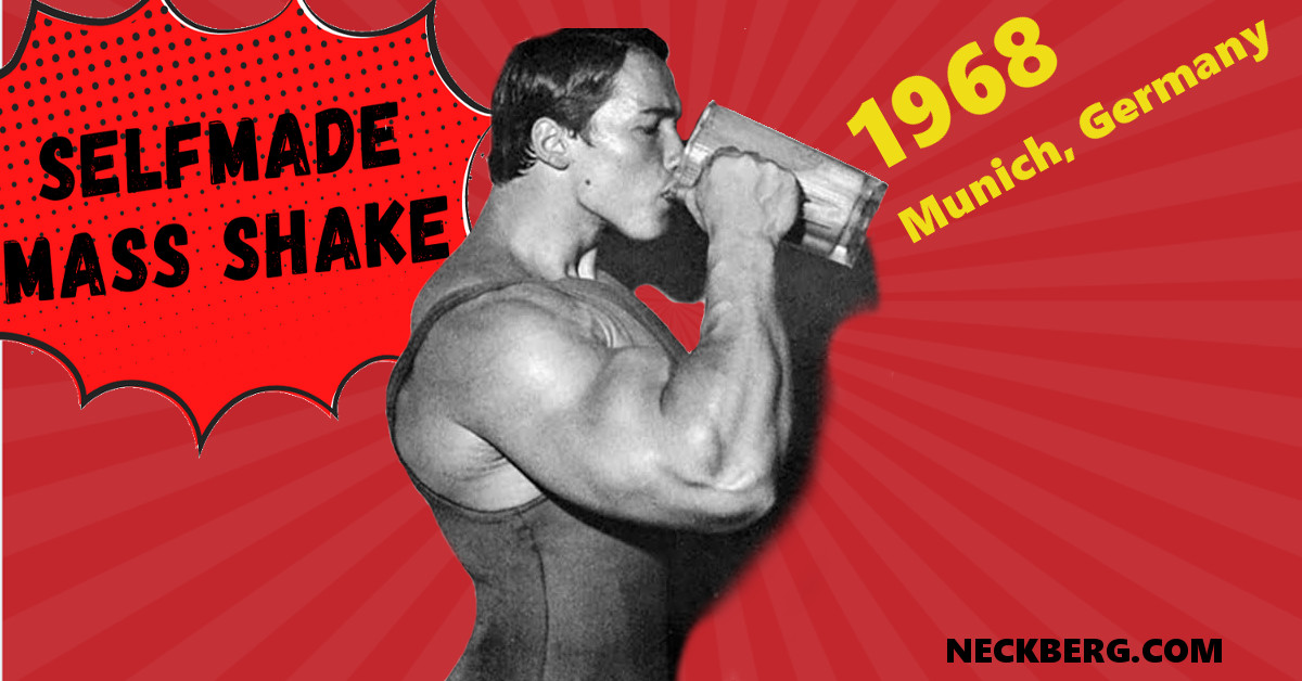 schwarzenegger german mass shake gaining weight