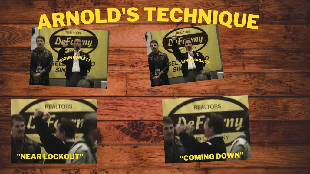 Arnold Schwarzenegger weightlifting technique