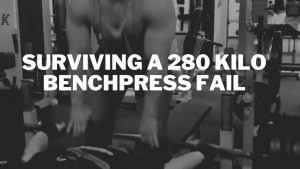benchpress fail accident dropped barbell powerlifting